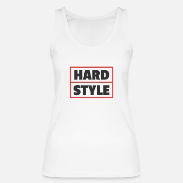 Style Hard Style Red Hardstyle Merchandise 150 BPM - Camiseta de tirantes orgánica mujer