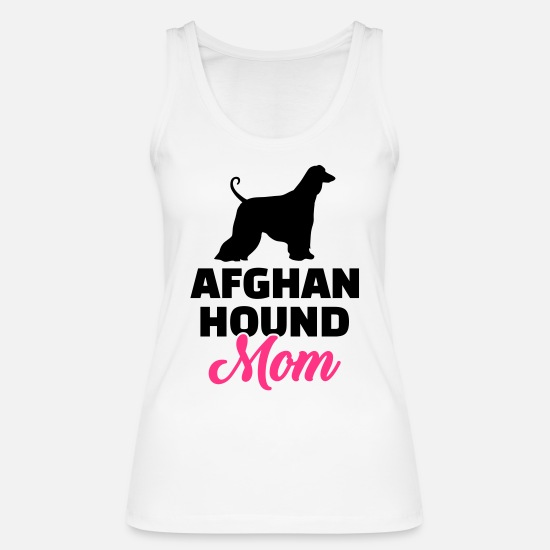 Mother Tank Tops - Afghan Hound - Women's Organic Tank Top white