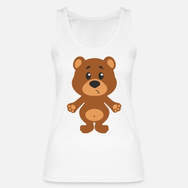 Play Cute bear - Women's Organic Tank Top