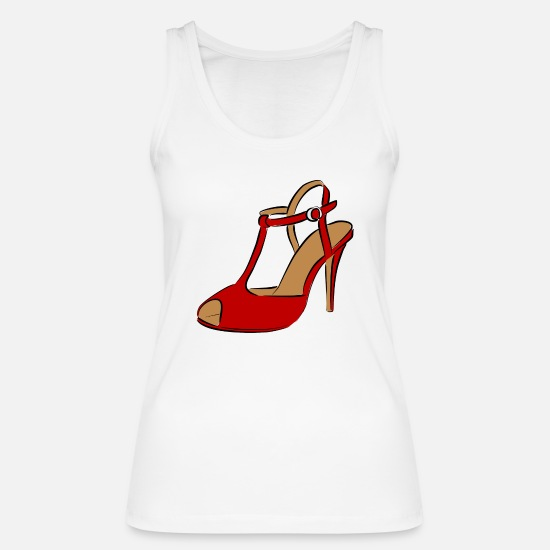 Feet Tank Tops - shoe - Women's Organic Tank Top white