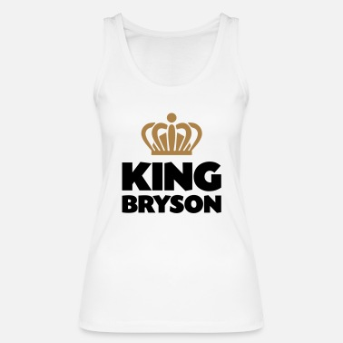 Bryson King bryson name thing crown - Women's Organic Tank Top