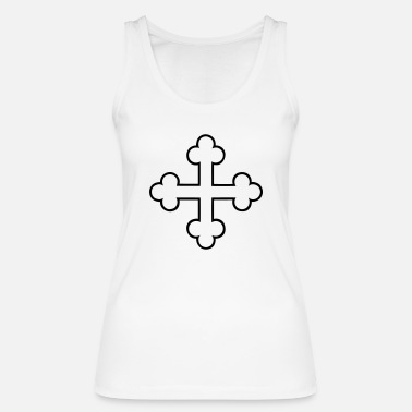 Orthodox cross orthodox - Women's Organic Tank Top