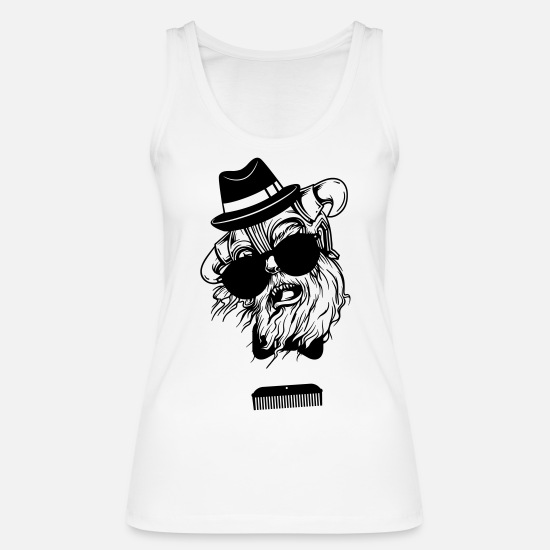 Cool Tank Tops - hipster - Women's Organic Tank Top white