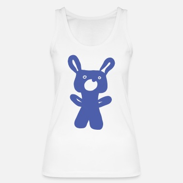 Cuddle Bear for cuddling and cuddling - Women's Organic Tank Top