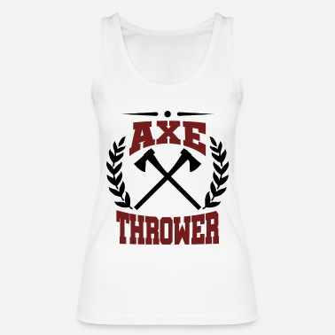 Axe Thrower Axe thrower - Økologisk tanktop dame