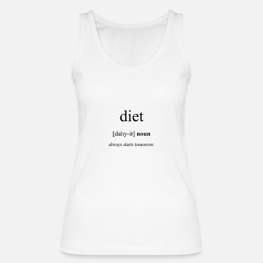 Diet Diet (diet) - Women's Organic Tank Top