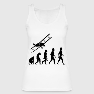 plane fliers fly evolution pilots cockpit - Women's Organic Tank Top by Stanley & Stella
