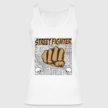 street fighters - Frauen Bio Tank Top von Stanley & Stella