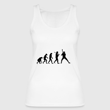 Evolution Baseball Sport Gift Player - Women's Organic Tank Top by Stanley & Stella