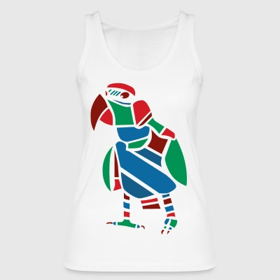 Parrot Vector graphic - Women's Organic Tank Top by Stanley & Stella