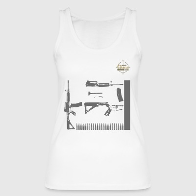 QUICK ARMS LOGO 7 - Women's Organic Tank Top by Stanley & Stella