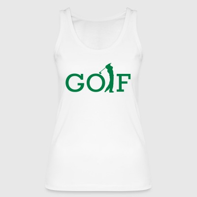 golf - Women's Organic Tank Top by Stanley & Stella
