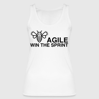 BE AGILE WIN THE SPRINT - Women's Organic Tank Top by Stanley & Stella