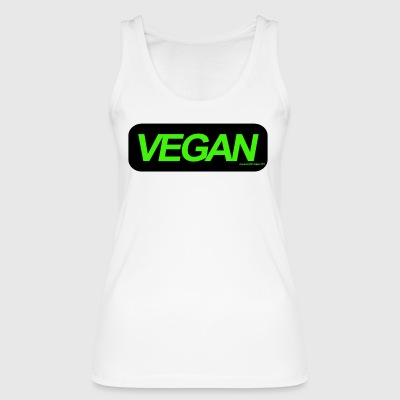 Vegan - Women's Organic Tank Top by Stanley & Stella