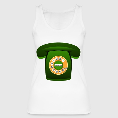 phone - Women's Organic Tank Top by Stanley & Stella