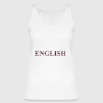 English word - Women's Organic Tank Top by Stanley & Stella