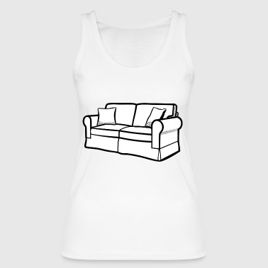 couch - Women's Organic Tank Top by Stanley & Stella