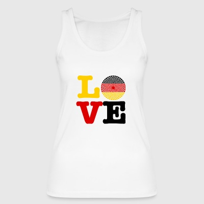 GERMANY HEART - Women's Organic Tank Top by Stanley & Stella