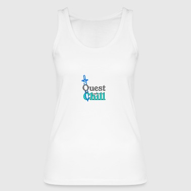 Quest and Chill - Women's Organic Tank Top by Stanley & Stella