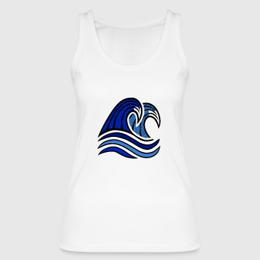 Waves - Women's Organic Tank Top by Stanley & Stella