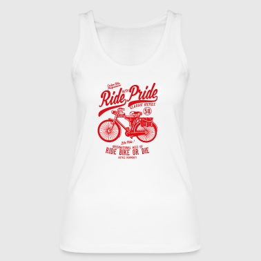 Ride With Pride2 - Women's Organic Tank Top by Stanley & Stella