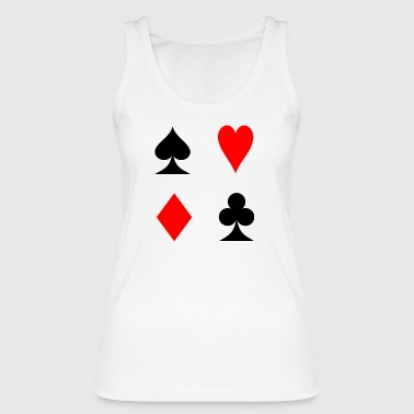 Cards player - Women's Organic Tank Top by Stanley & Stella