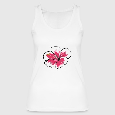 Aloha hibiscus - Women's Organic Tank Top by Stanley & Stella