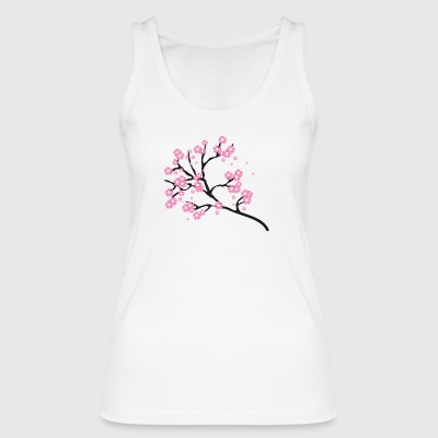 Cherry blossoms - Women's Organic Tank Top by Stanley & Stella