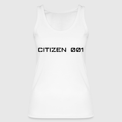 CITIZEN 001 - Women's Organic Tank Top by Stanley & Stella