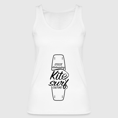 Premium Steeze Kiteboarding Kitesurf Culture Board - Women's Organic Tank Top by Stanley & Stella