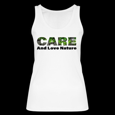 Care - Women's Organic Tank Top by Stanley & Stella