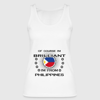 I AM GENIUS BRILLIANT CLEVER PHILIPPINES - Women's Organic Tank Top by Stanley & Stella