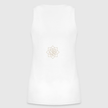 Lotus Om - Women's Organic Tank Top by Stanley & Stella