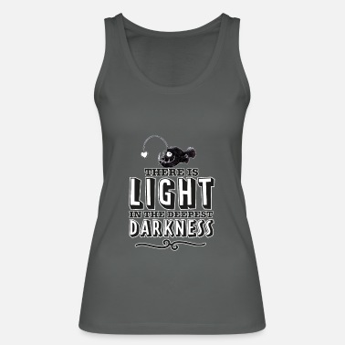 There is light in the deepest darkness. - Women's Organic Tank Top by Stanley & Stella
