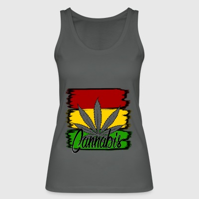 cannabis - Women's Organic Tank Top by Stanley & Stella