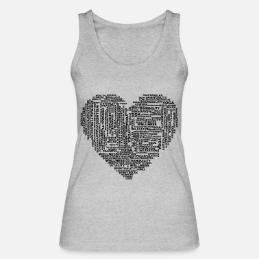 Yogi I love my yoga gift for yogis - Women's Organic Tank Top by Stanley & Stella