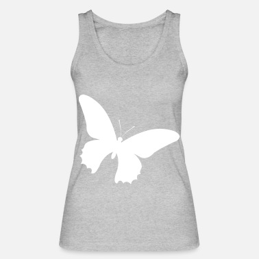 Insekt Schmetterling Illustration butterfly Tier Insekt - Frauen Bio Tanktop
