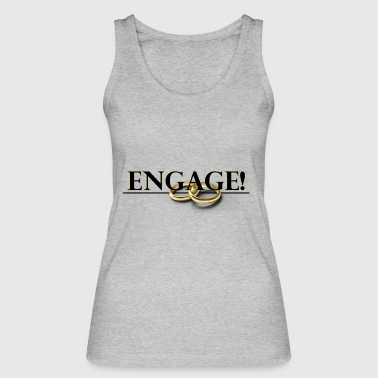 Engage - Women's Organic Tank Top by Stanley & Stella
