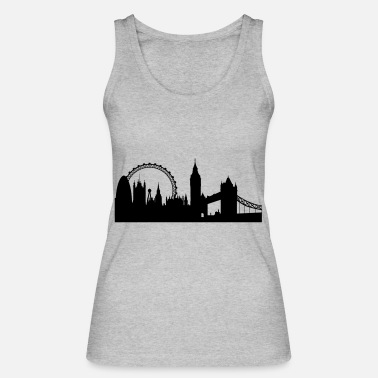 London london silhouette 2 - Women's Organic Tank Top by Stanley & Stella