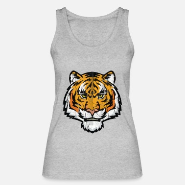 Tiger Tiger Tiger Tiger - tiger head - Women's Organic Tank Top by Stanley & Stella