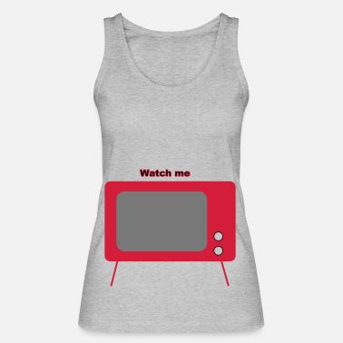 Television old television - Women's Organic Tank Top by Stanley & Stella