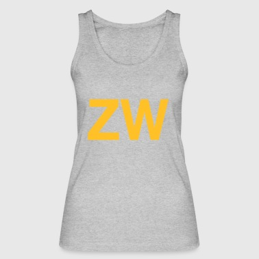 Initial ZW Initials - Women's Organic Tank Top by Stanley & Stella