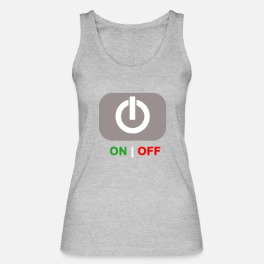 Off ON | OFF - Women's Organic Tank Top by Stanley & Stella