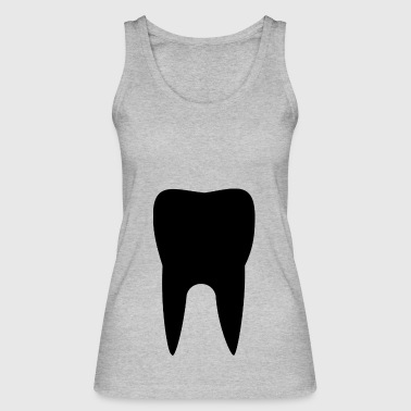 tooth - Women's Organic Tank Top by Stanley & Stella