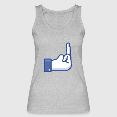 Middle Finger middle finger - Women's Organic Tank Top by Stanley & Stella