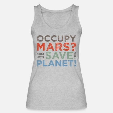 Occupy Occupy Mars? - Vrouwen bio tank top