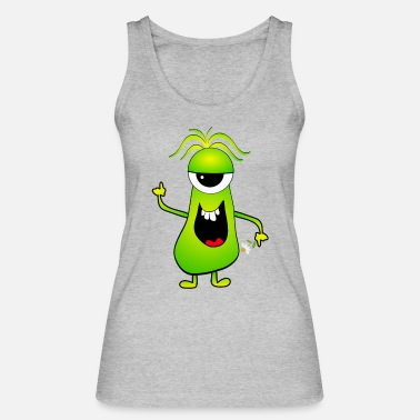 Monster Monster - Monster - Alien - Women's Organic Tank Top