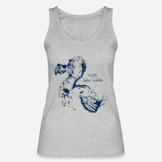 Mauritius Tank Tops - Der Dodo - Women's Organic Tank Top heather grey