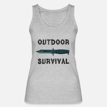 Outdoor Outdoor Survival - Frauen Bio Tanktop