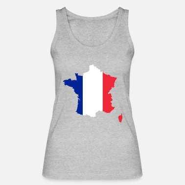 France France - France - Women's Organic Tank Top